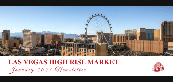 January 2021: Las Vegas High Rise Stimulus Program and Sales Report